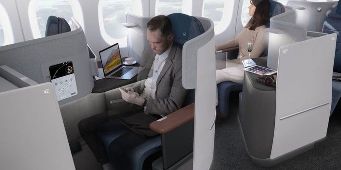 new lufthansa business class seats will offer you a choice of a bed