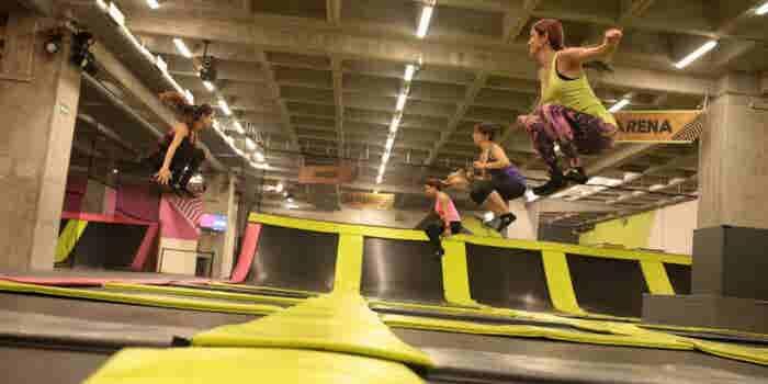 Jumpster Trampoline Park presenta modelo de franquicia en México