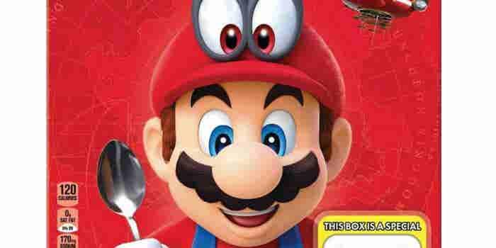 Kellog's y Nintendo preparan el cereal de Mario Bros.