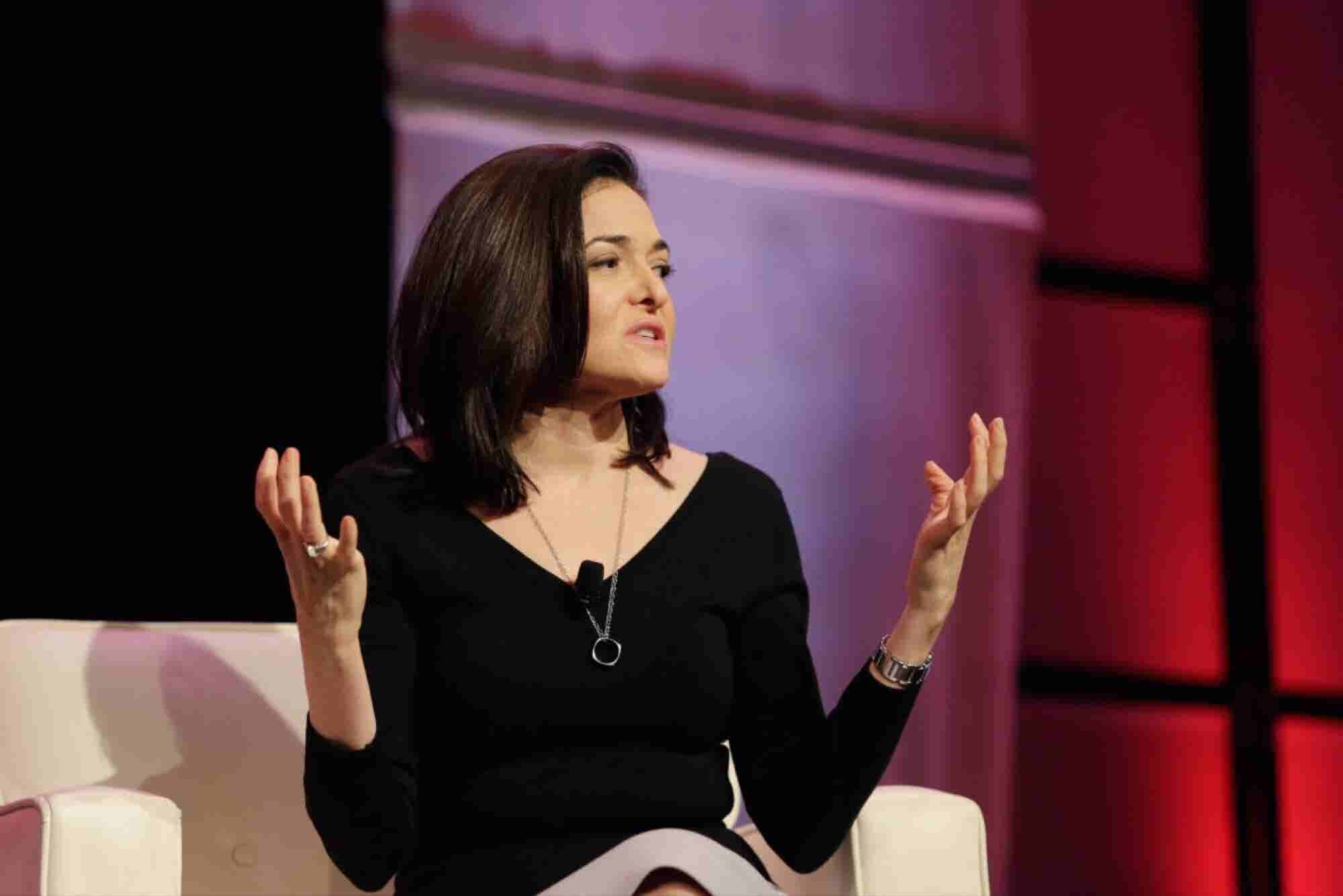 Sheryl Sandberg's 6 Steps to Make Sure Everyone Feels Safe at Work