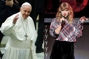 Taylor Swift and Pope Francis Have at Least 1 Thing in Common. Can You Guess What?