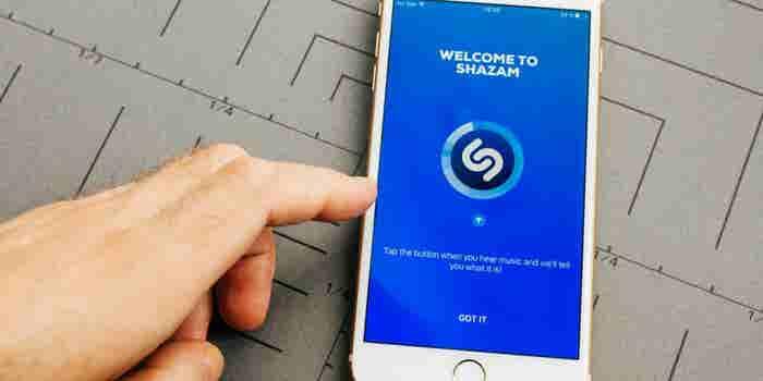 Apple adquiere la app de música Shazam