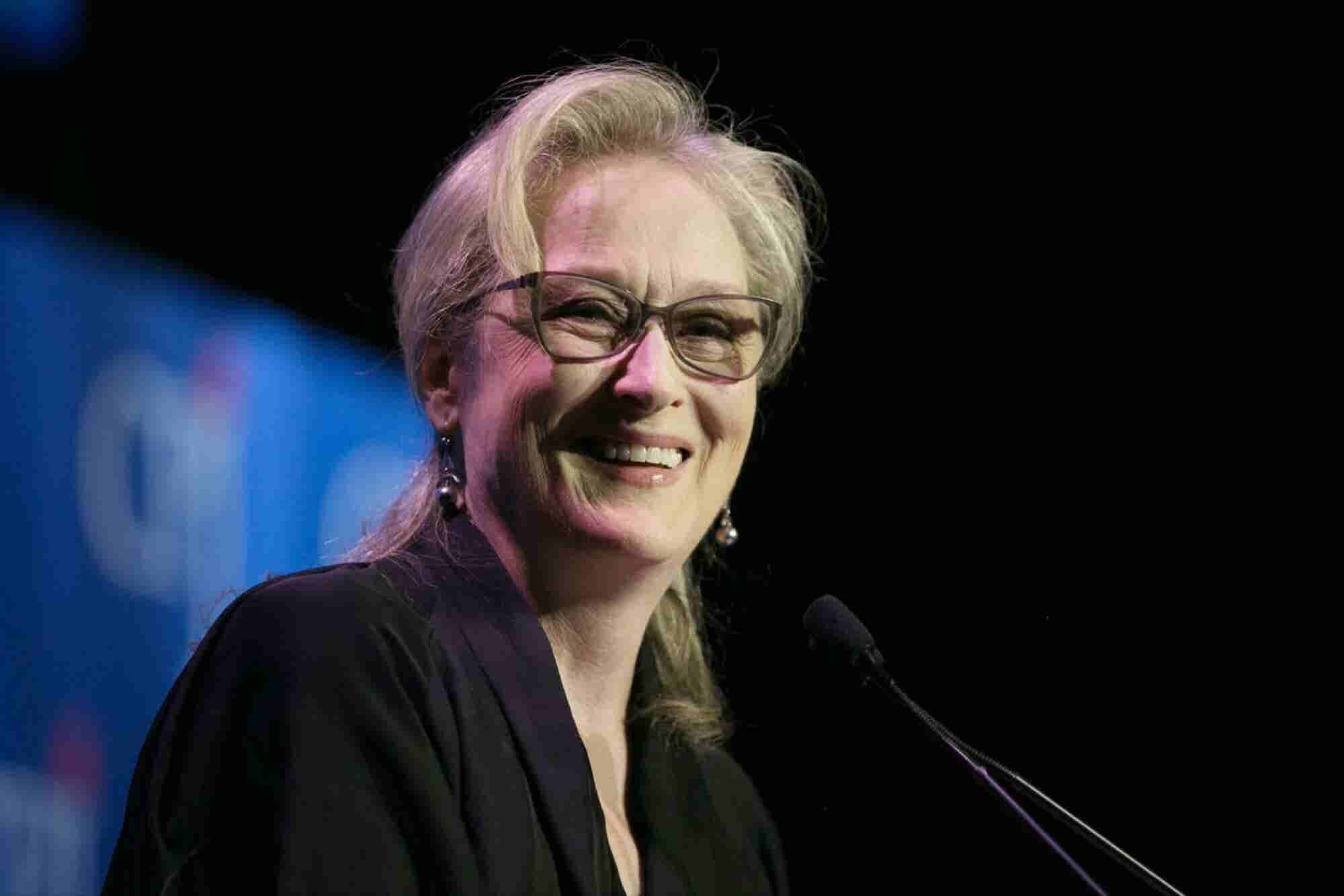 Meryl Streep on the Most Valuable Compliment You Can Give