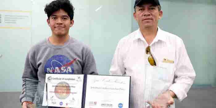 Joven mexicano quiere impulsar una agencia espacial en el país