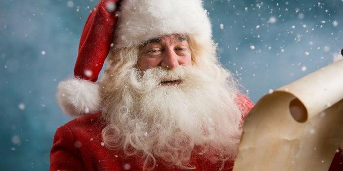 Una carta a Santa Claus de parte de un emprendedor