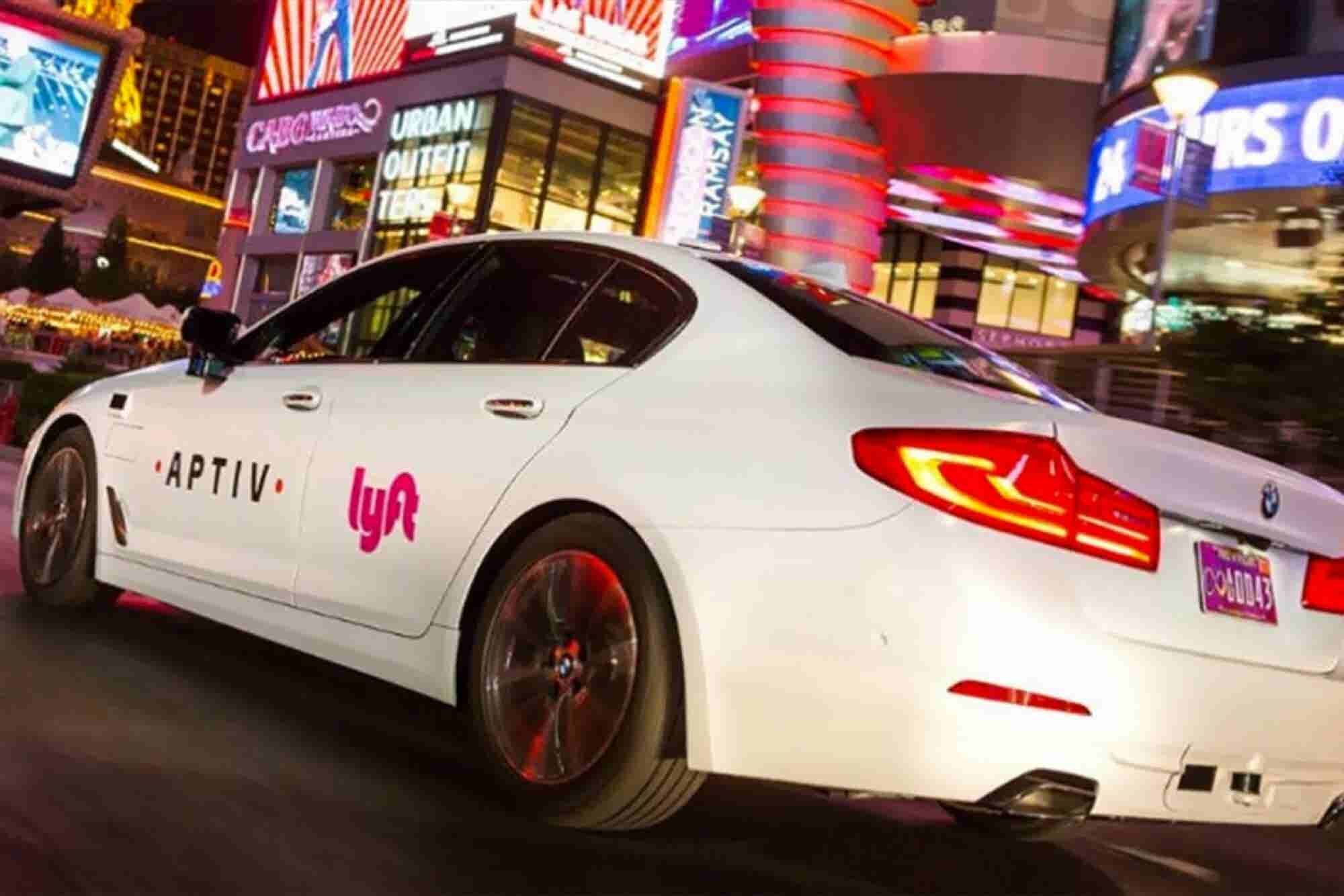 Lyft to Offer Self-Driving Rides in Las Vegas During CES