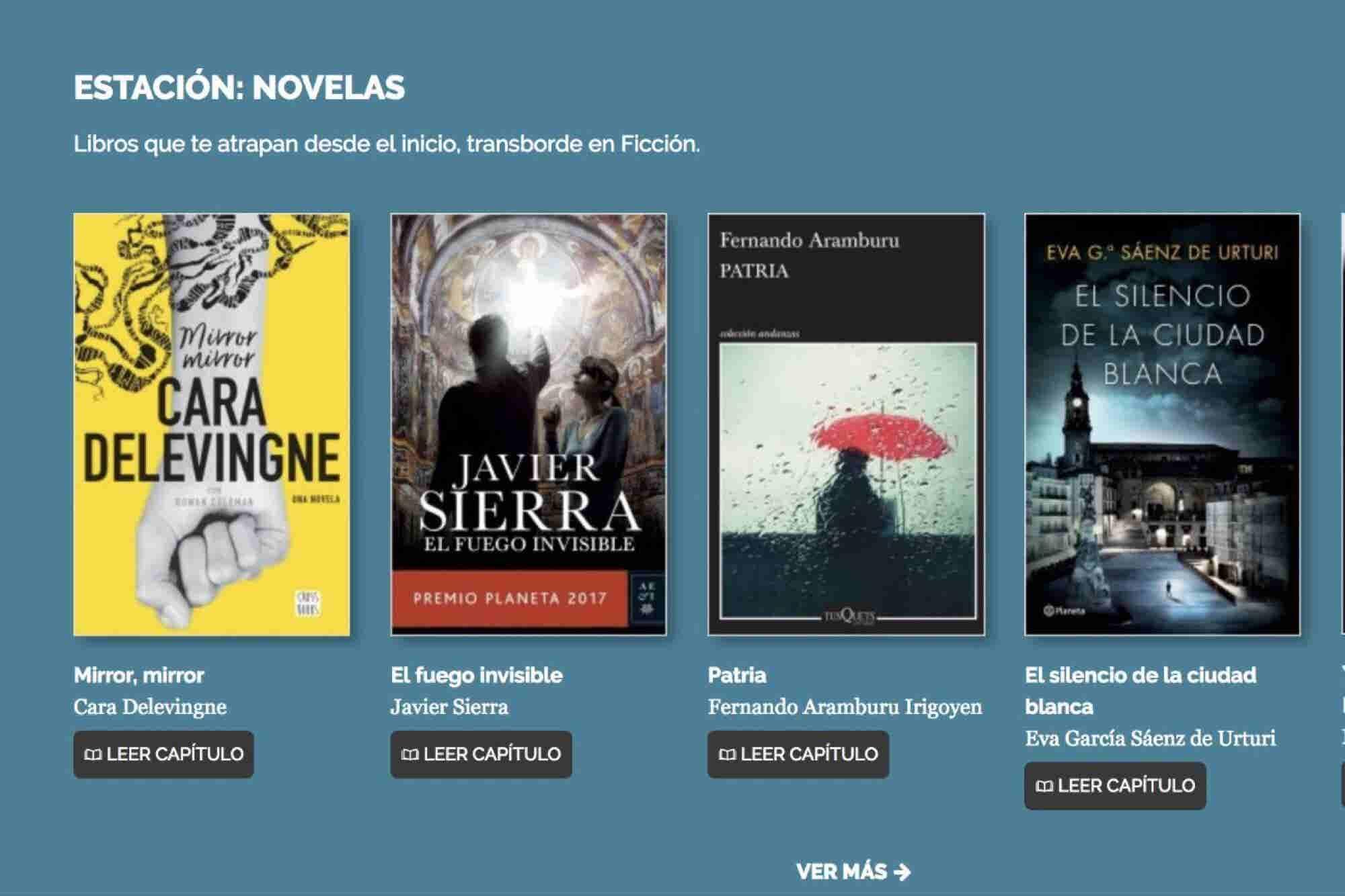 ¡Ya puedes descargar libros gratis en el Metro!
