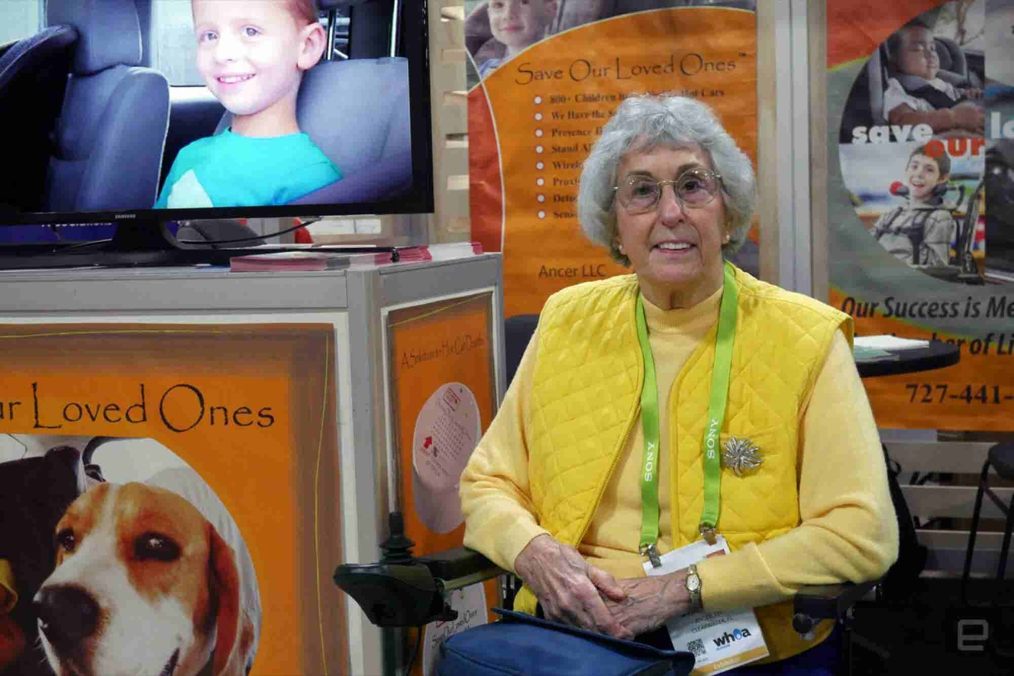An 82-Year-Old Entrepreneur Makes Her First Appearance at CES -- and It's Amazing