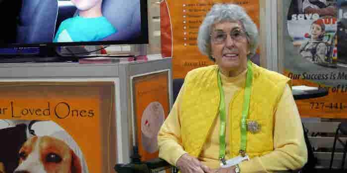 La emprendedora de 82 años que está en su primer CES