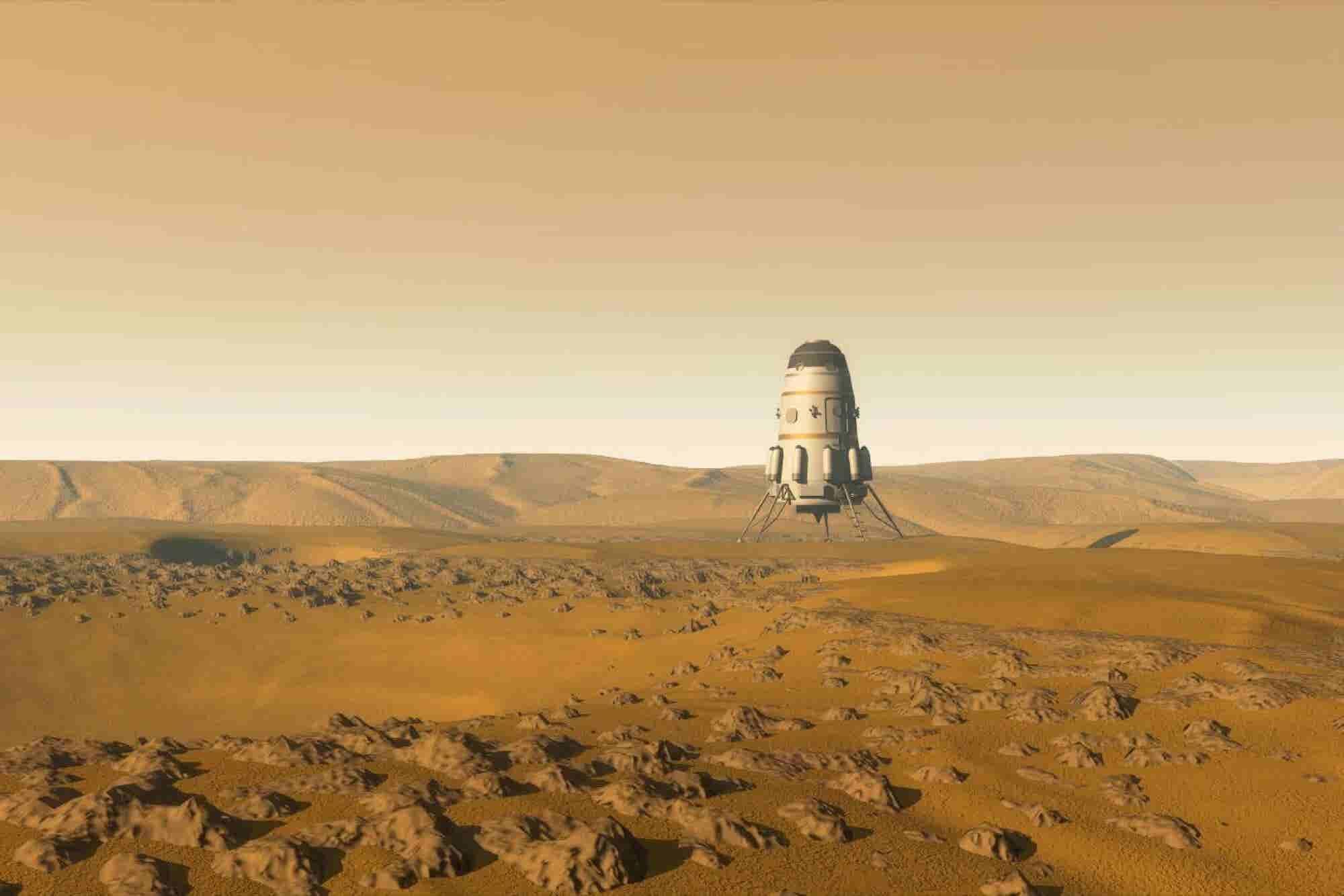 Los estudiantes mexicanos que llegaron a Marte