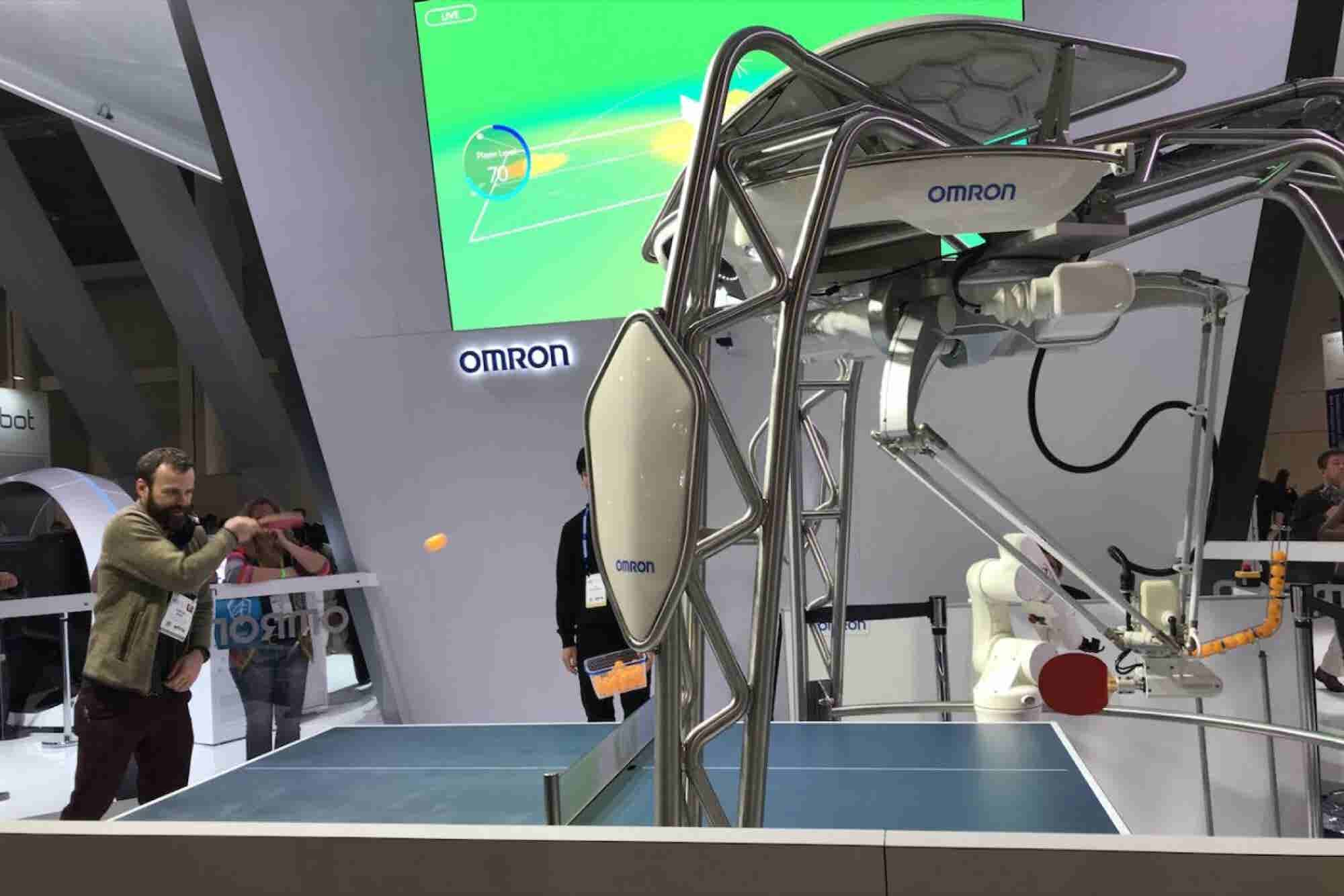 What This Ping-Pong Robot Tells Us About the Next Phase of Human-Robot...