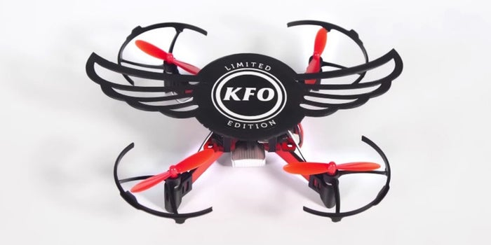 KFC Chicken Wings Box Doubles as a Quadcopter