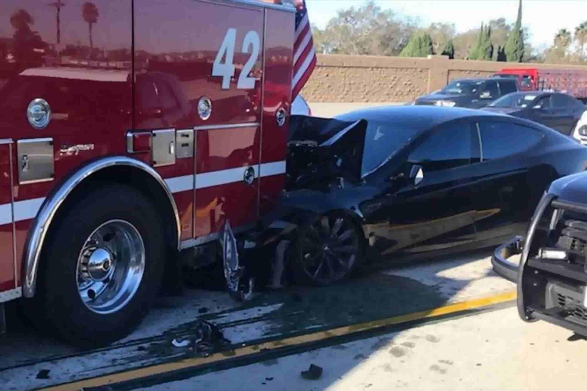 Tesla Driver Blames Autopilot for Fire Truck Collision
