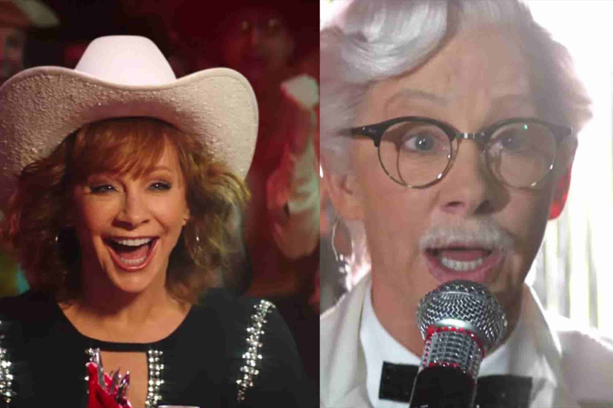 KFC Just Revealed Reba McEntire Will Be Its First Female Colonel Sanders