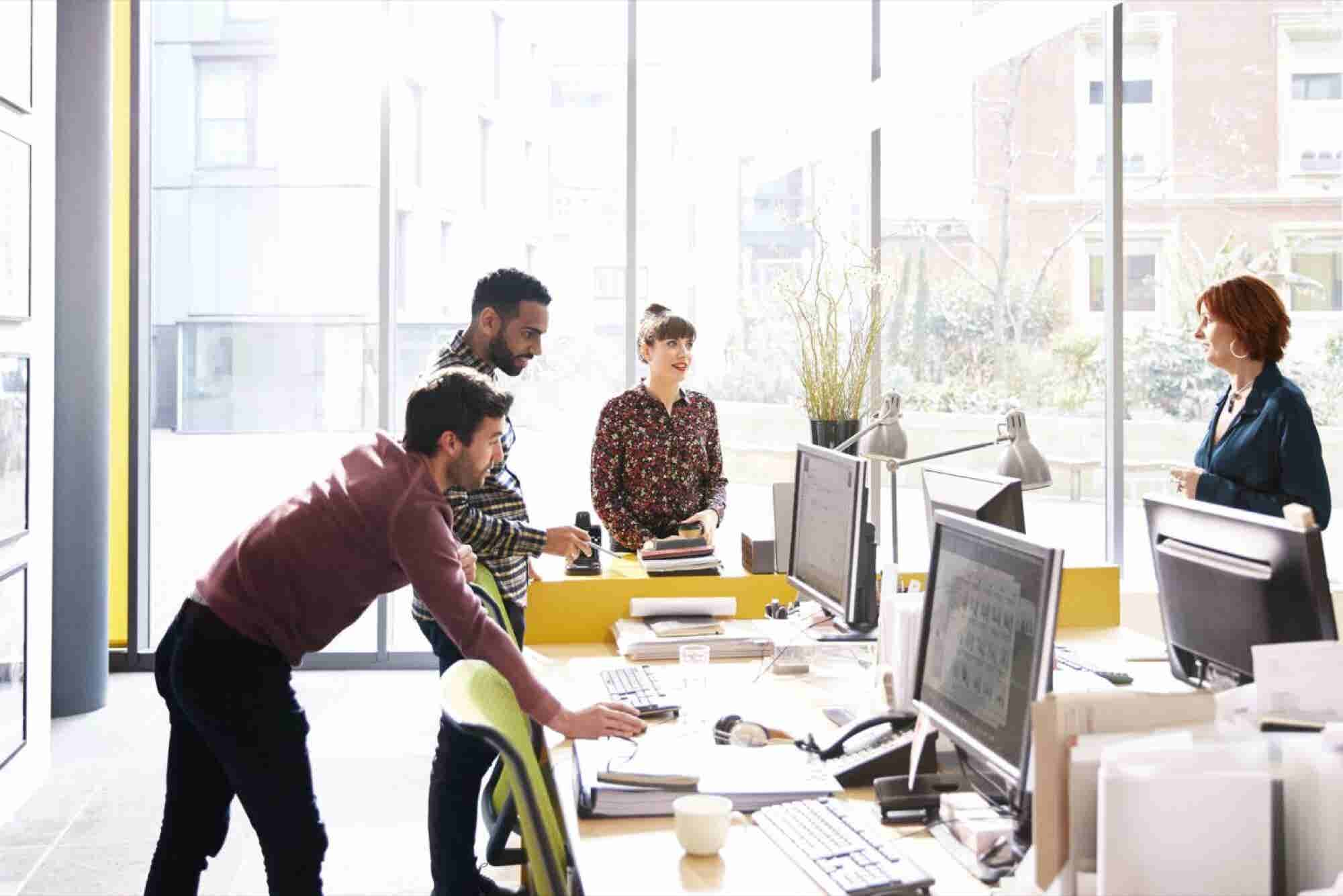 For Better Teamwork, Let People Choose Whom They Work With