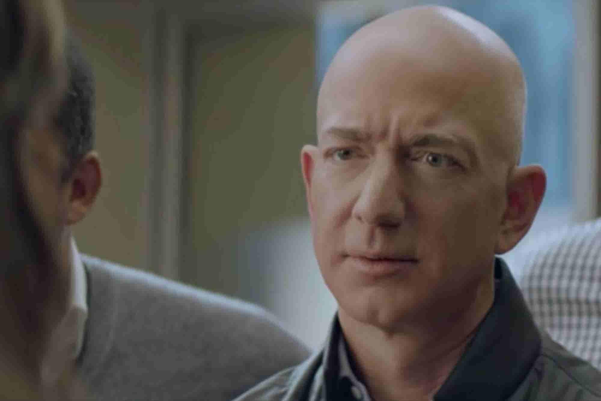 Billionaire Jeff Bezos Will Star in Amazon's Super Bowl Ad