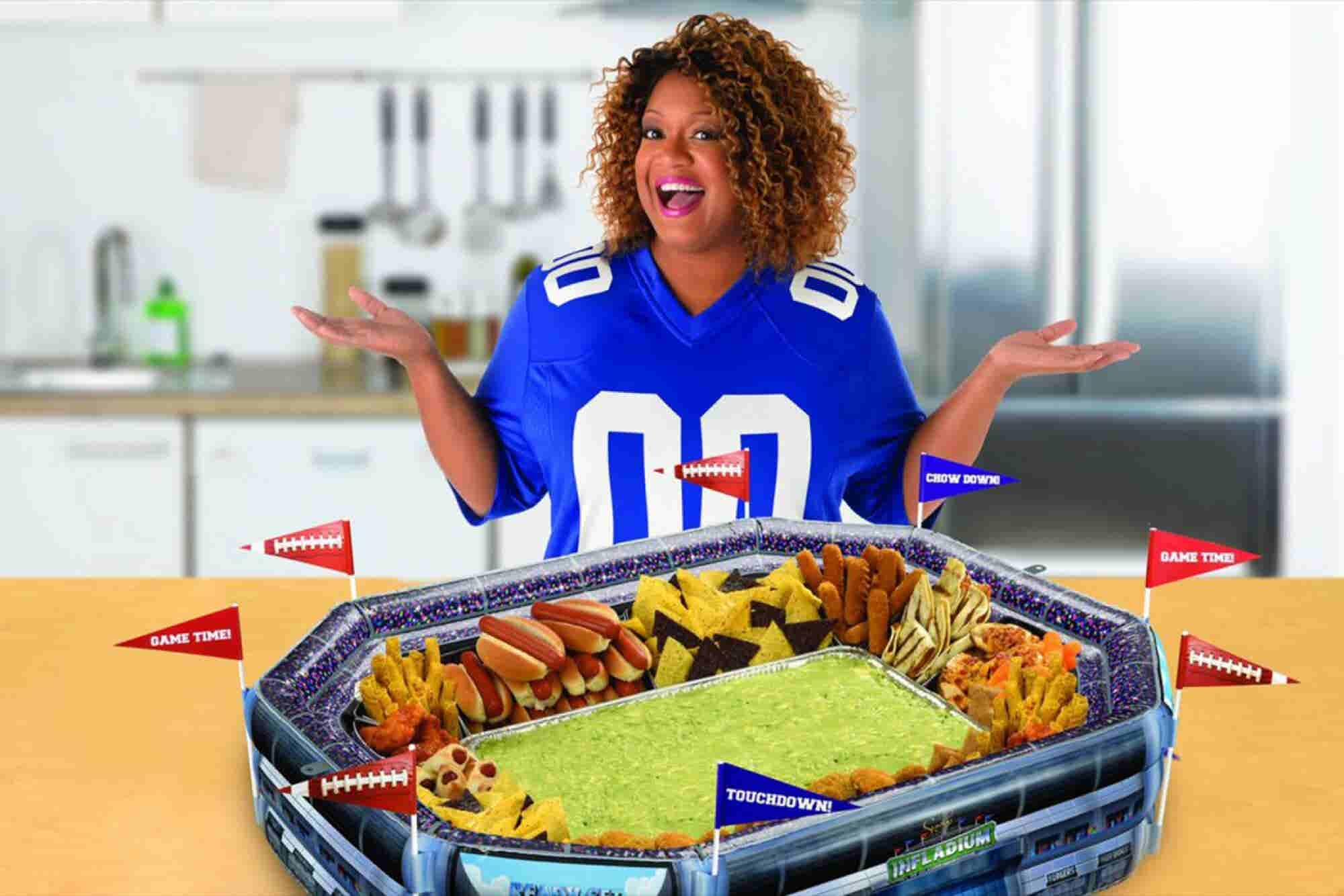 Here's How Celebrity Chef Sunny Anderson Brought Her Super Bowl-Ready...