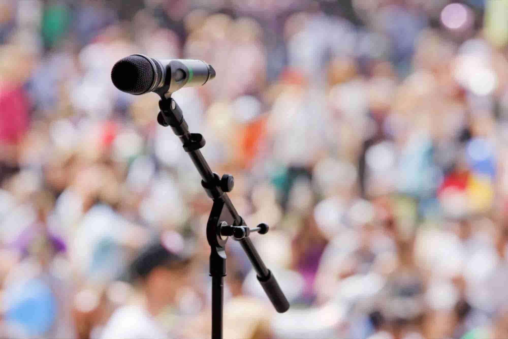 10 errores más comunes al hablar en público