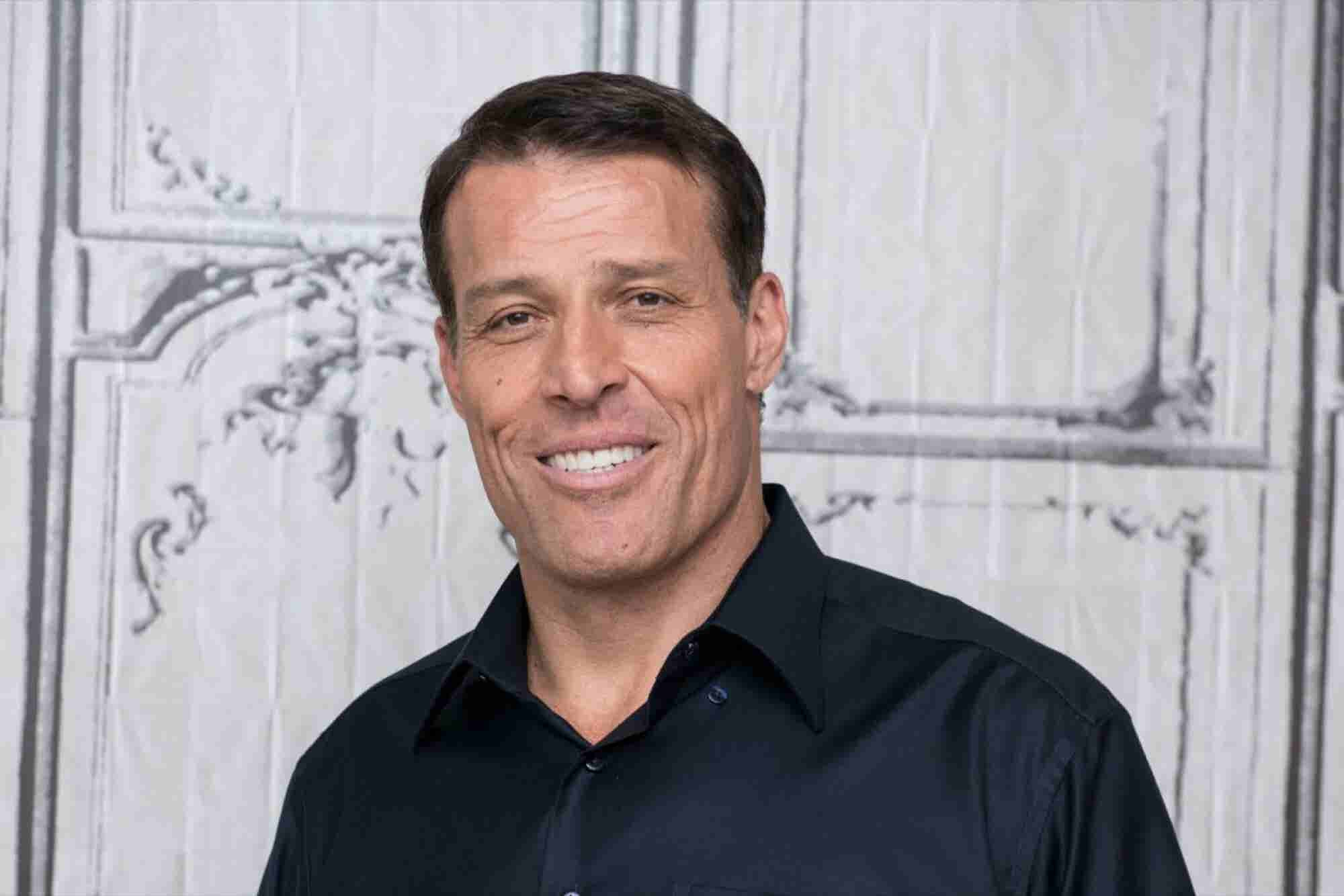 Life Coaching Guru Tony Robbins Tells Us Why He's Investing in an AI Company