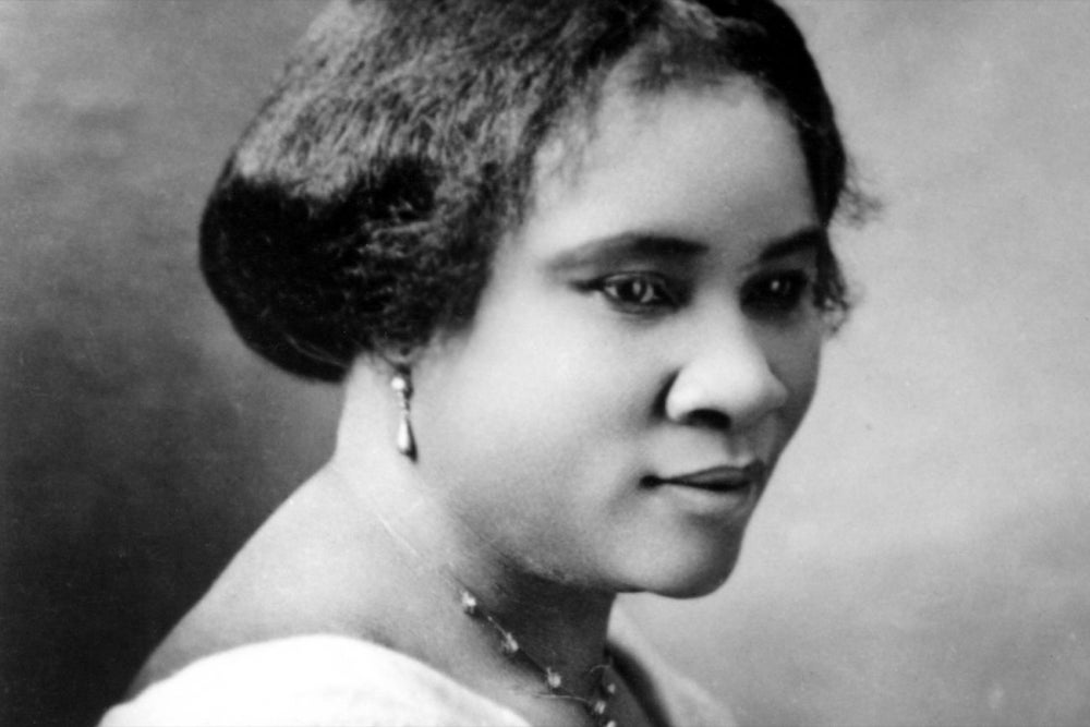 6 Lessons From Madam C.J. Walker, America's First Black Self-Made Female Millionaire