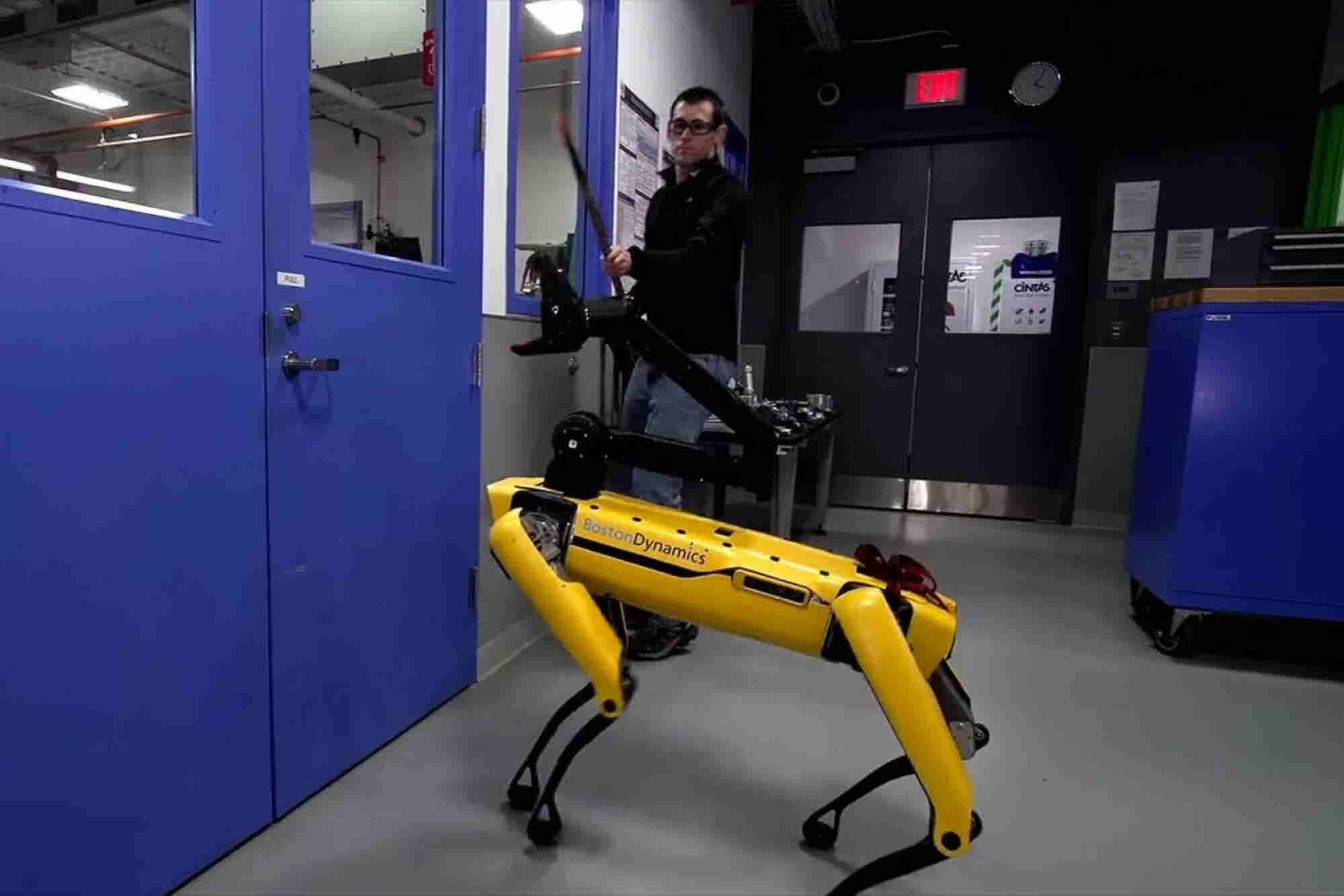 Watch This Robot Endure Abuse While Opening a Door