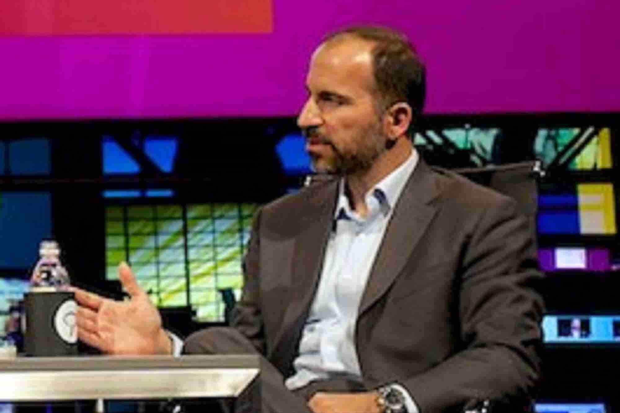 Uber CEO Dara Khosrowshahi is in India and He says Ola to Competition