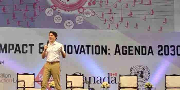 Canadian Prime Minister Justin Trudeau Bats for Equality in India