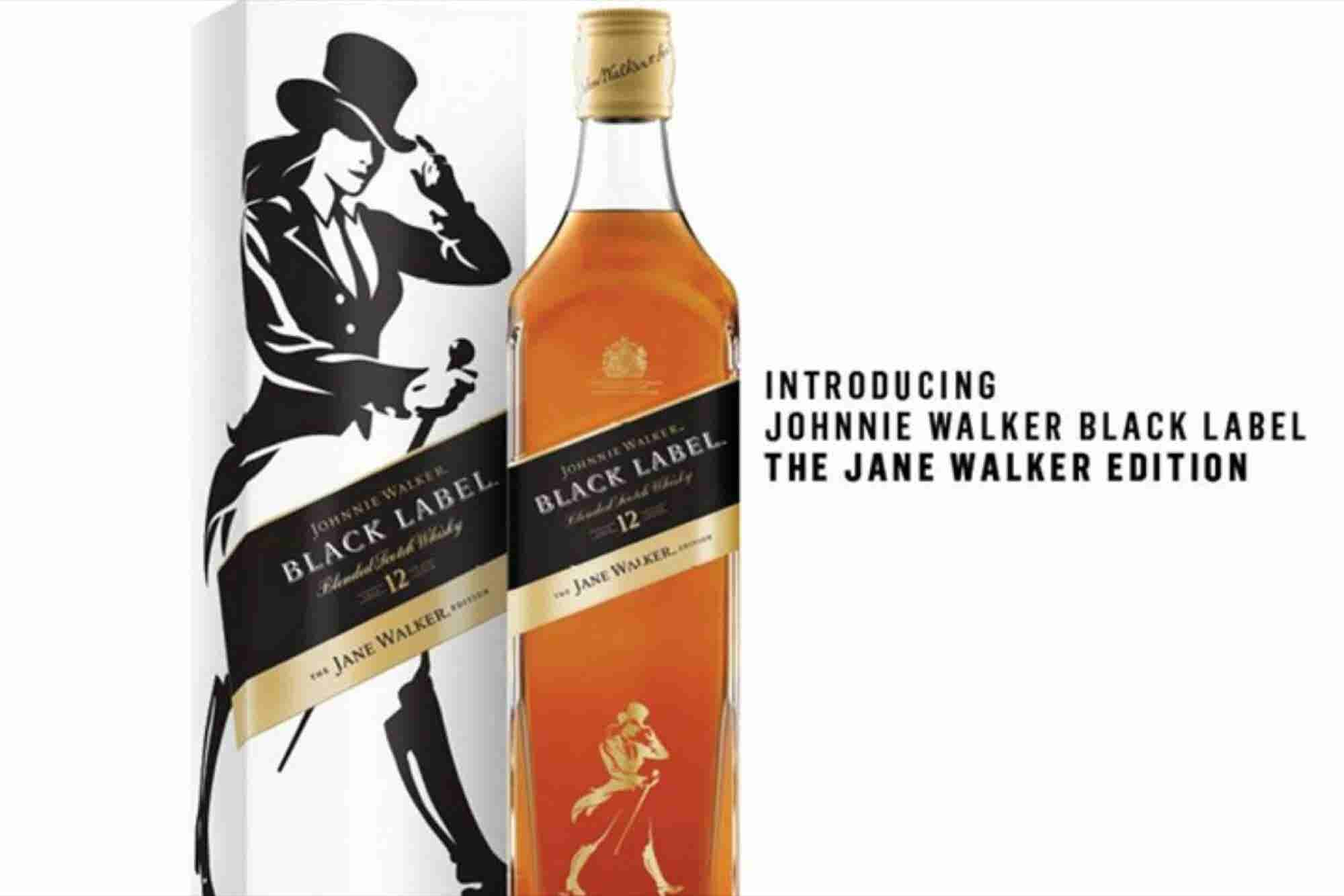 Jane Walker será la versión femenina del whisky Johnnie Walker