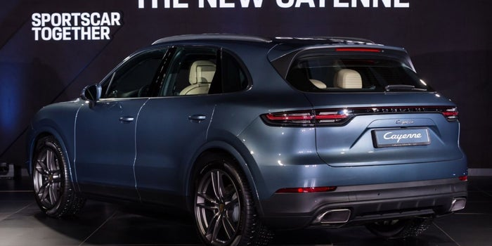 Setting The Standard: Porsche Cayenne's New Models Arrive In The UAE