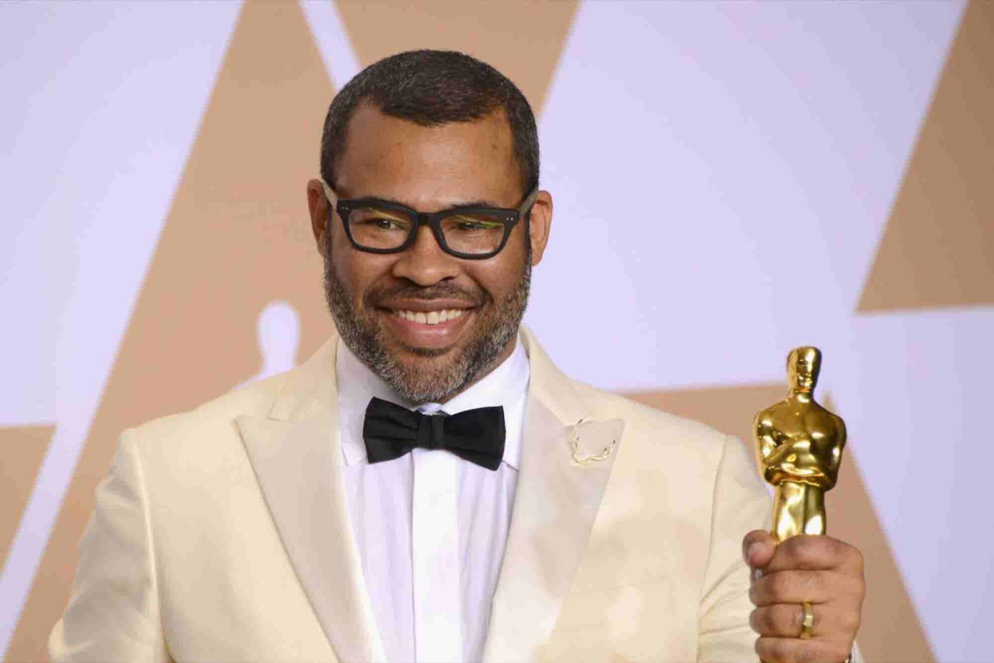 Jordan Peele Overcame Self-Doubt to Become the First Black Person to W...
