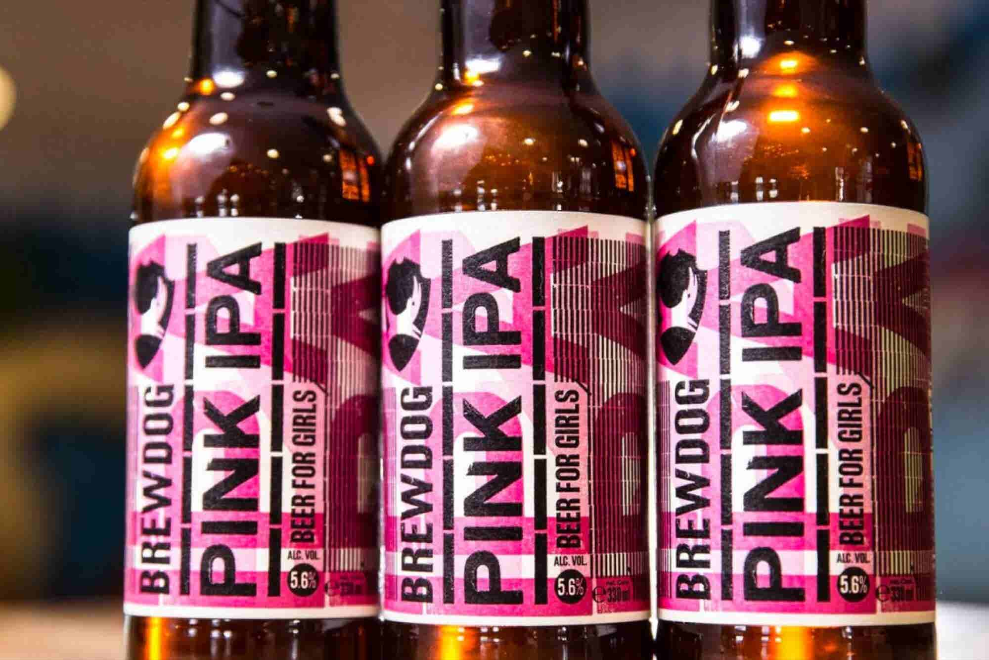 A Cult Craft Brewer Says Its 'Beer For Girls' Is Satire -- But Women Are Slamming the Company for the 'Lazy Stunt'
