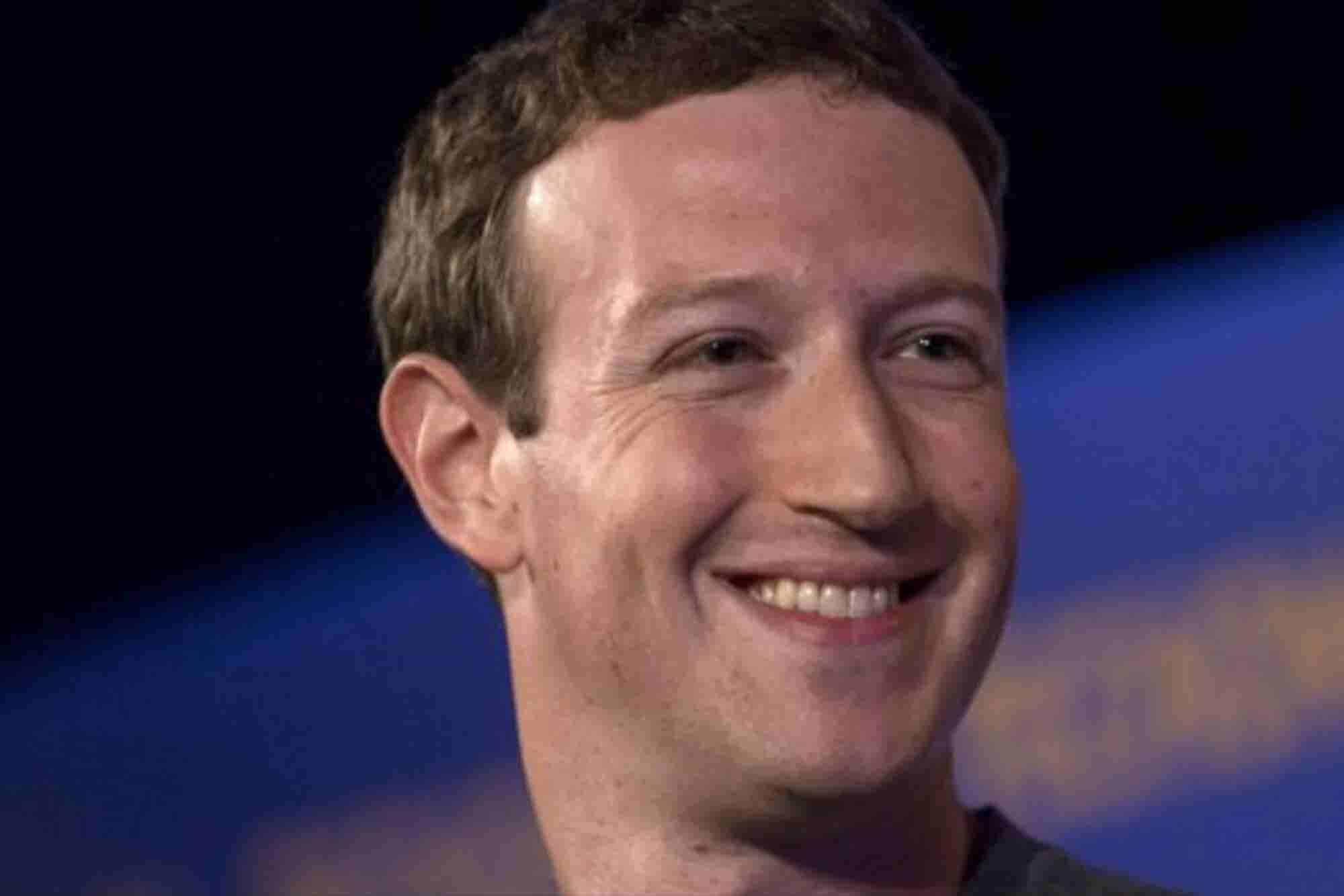 Mark Zuckerberg vendió 500 mdd en acciones de Facebook con fines filantrópicos
