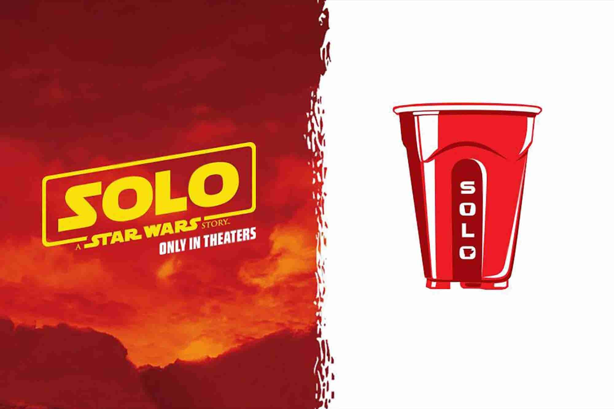 Disney's Punny Team Up With Solo Cup for the Next 'Star Wars' Movie Is...
