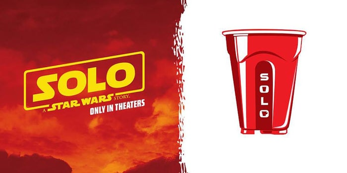 Disney's Punny Team Up With Solo Cup for the Next 'Star Wars' Movie Is a Good Reminder That George Lucas Made Millions on Licensing