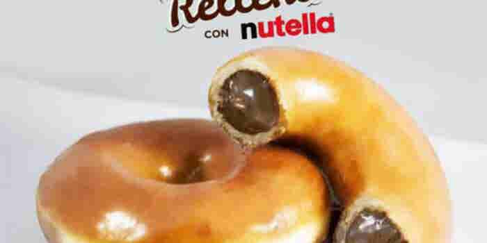 México no tendrá disponible la dona con relleno de Nutella