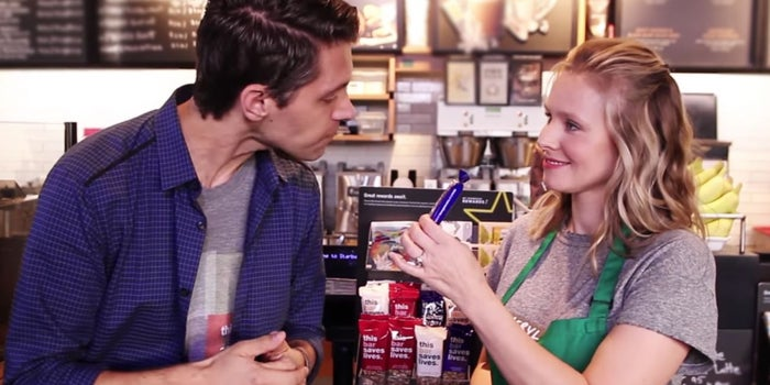 Kristen Bell Teams Up With Actors to Create a Snack Bar Brand That Feeds Starving Children