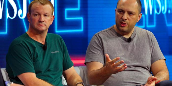 Founder of WhatsApp Brian Acton and Jan Koum  (Success of Whatsapp)