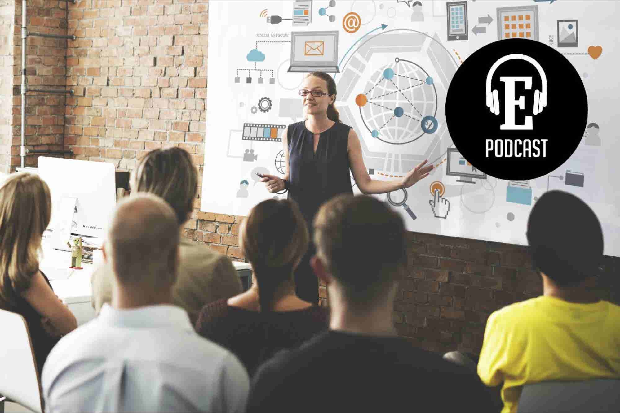 Podcast Entrepreneur # 5: Claves para presentar un pitch convincente y ganador