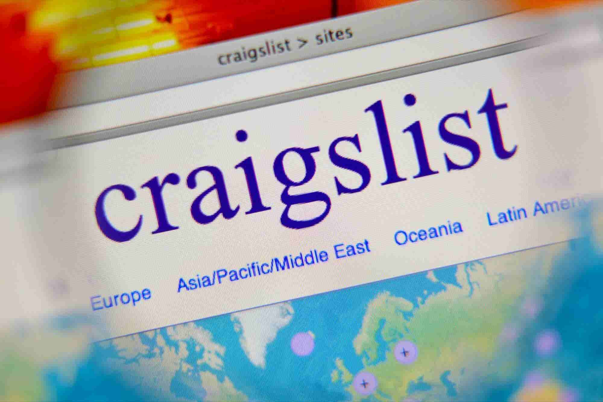 Craiglist Blocks Personal Ads to Protest Anti Sex-Trafficking Law
