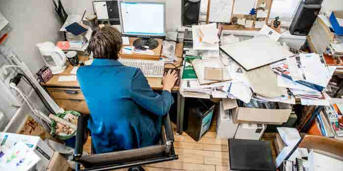 There Is No Tidy Way to Deal With a Hoarder on Your Staff