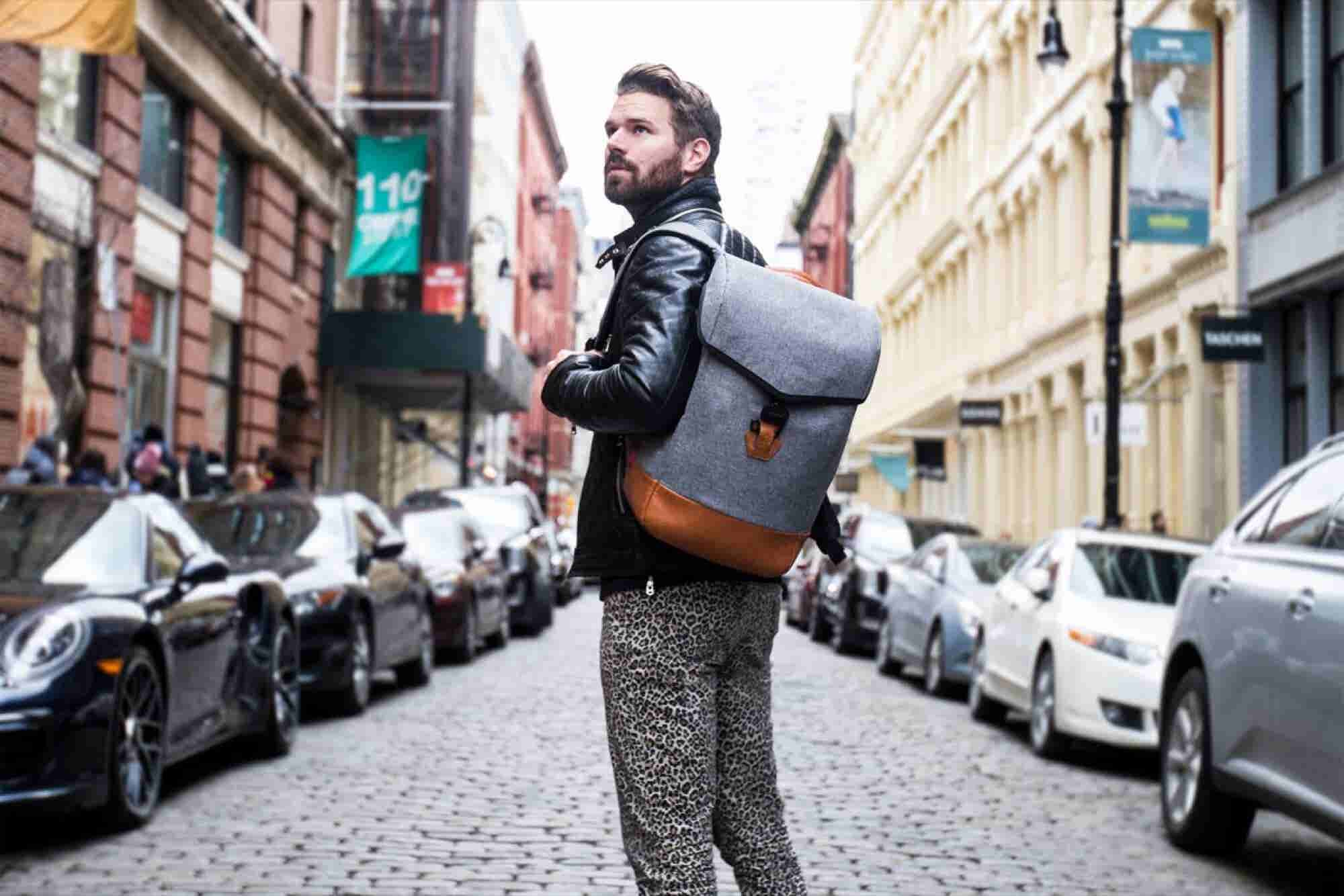 To Keep His Kickstarter Backers Happy, This Entrepreneur Is Wearing Leopard-Print Pants Every Day