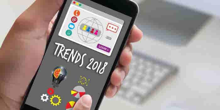 6 apps que caminan por la disrupción en 2018