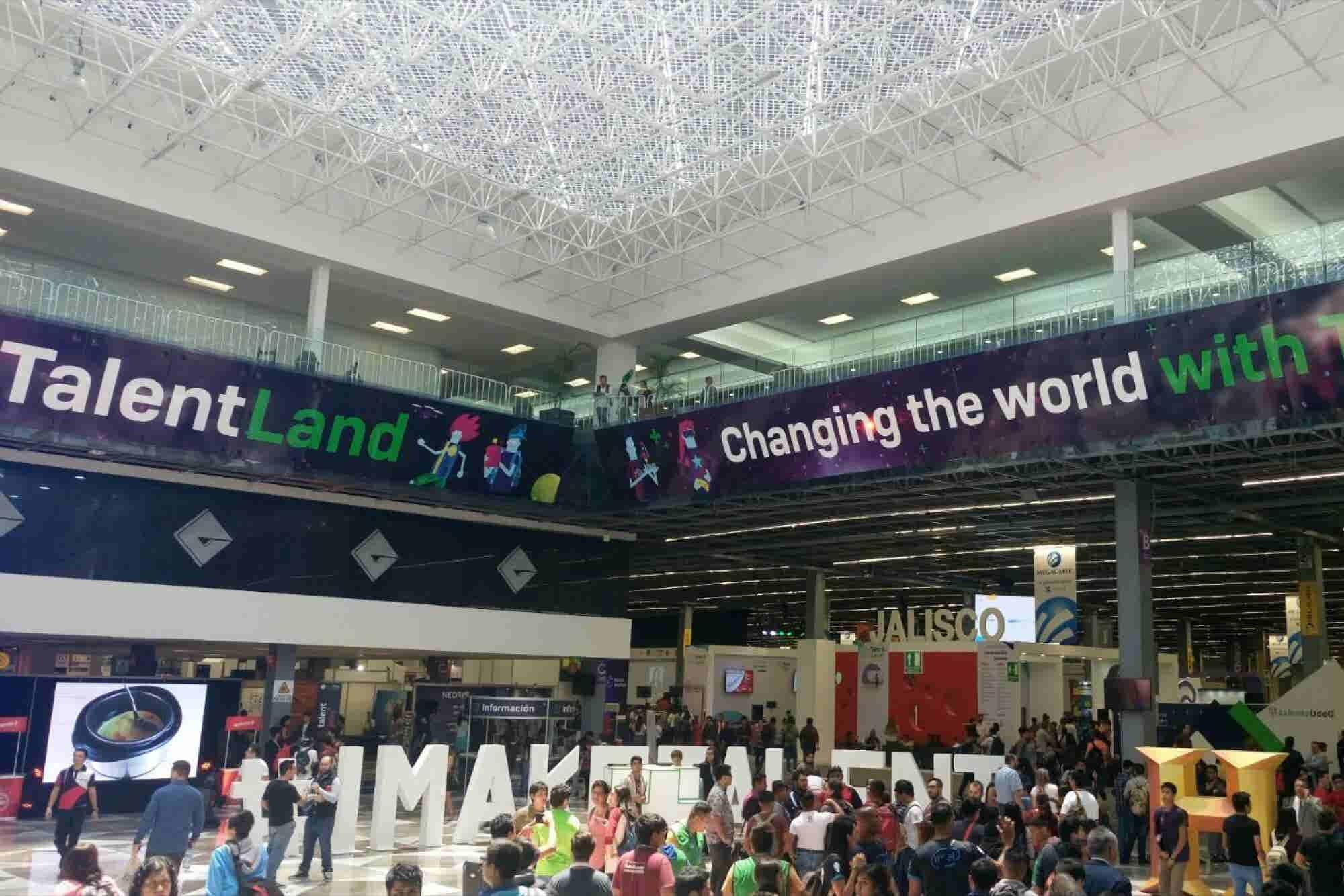 La evolución de Campus Party que vincula emprendedores con gigantes te...