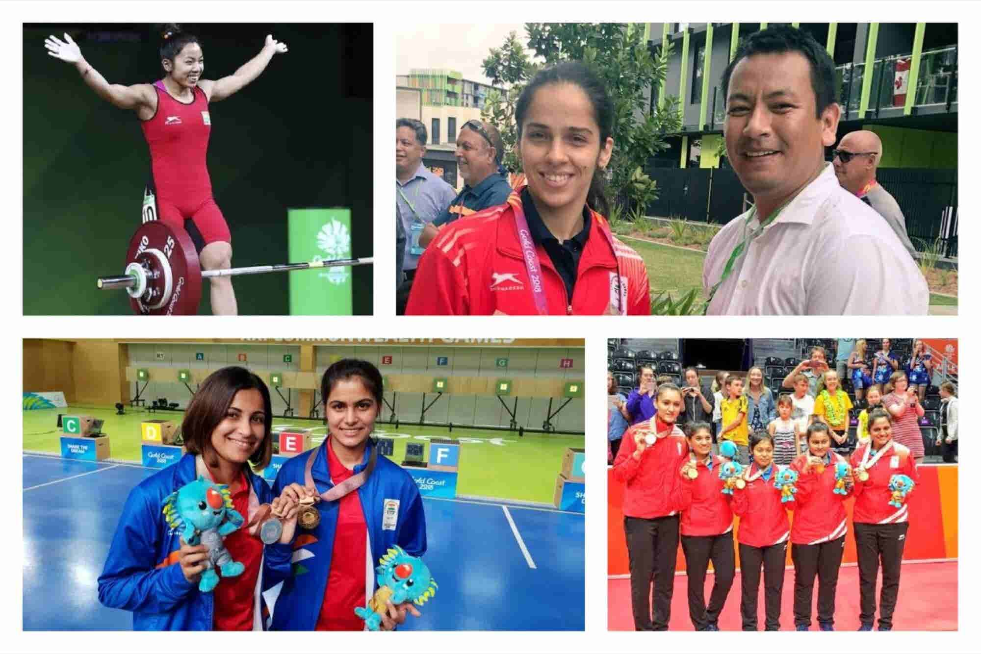 The Golden Girls of India are Shining Bright at 2018 Commonwealth Games