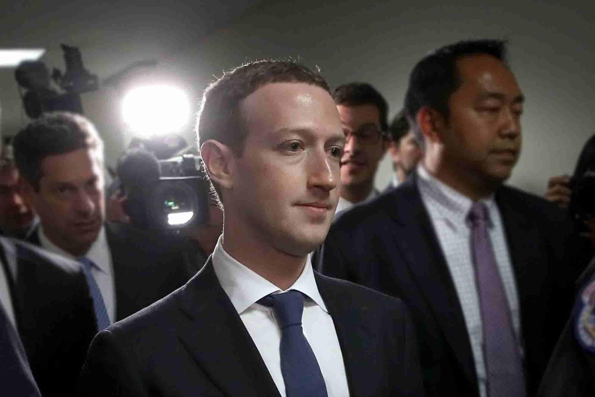 Mark Zuckerberg Has Been Doing Extensive Prep for His Congressional He...