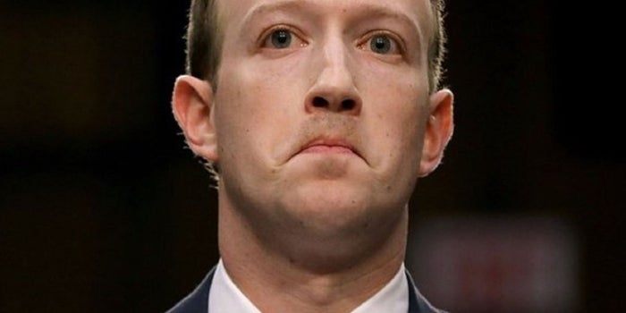 Is Zuckerberg Happy to Share his Messages Publicly? No Prizes Guessing