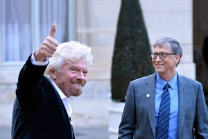 How 10 Billionaires Faced Failure (Infographic)