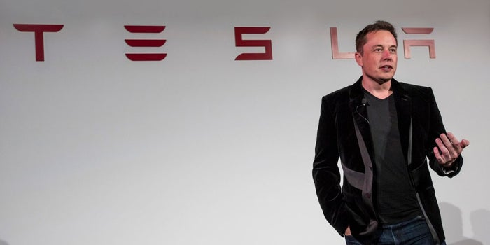 Elon Musk Explains Why He's Still Sleeping on the Tesla Factory Floor