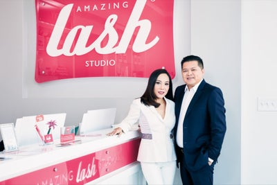 She Wanted Better Lash Extensions, So She Made Her Own -- and Then Bui...