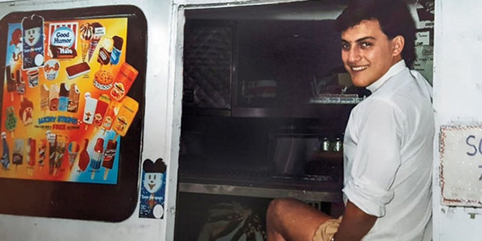 How an Old Photo Helped a Cancer Survivor Focus on His Dream -- of Making Ice Cream